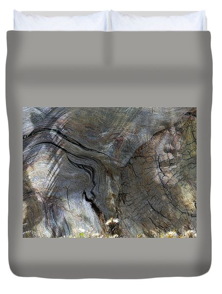 Duvet Cover featuring the photograph Tree Memories # 28 by Ed Hall