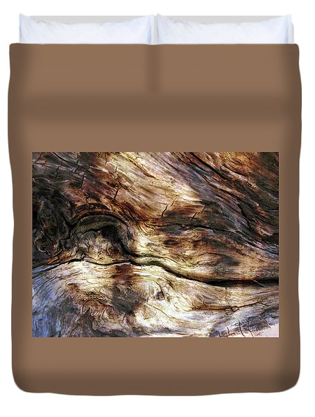 Duvet Cover featuring the photograph Tree Memories # 30 by Ed Hall