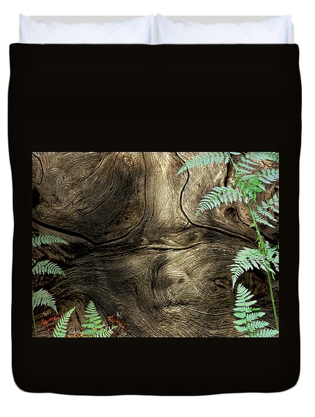 Duvet Cover featuring the photograph Tree Memories # 32 by Ed Hall