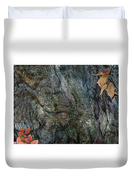 Duvet Cover featuring the photograph Tree Memories # 33 by Ed Hall