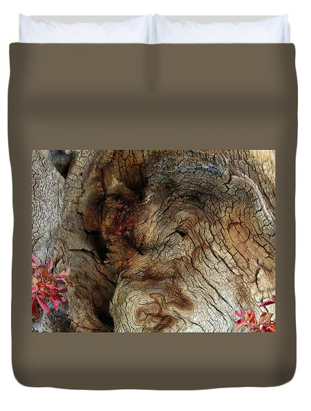Duvet Cover featuring the photograph Tree Memories # 34 by Ed Hall