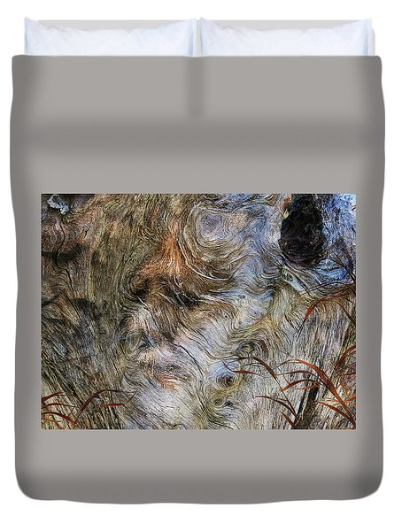Duvet Cover featuring the photograph Tree Memories # 35 by Ed Hall