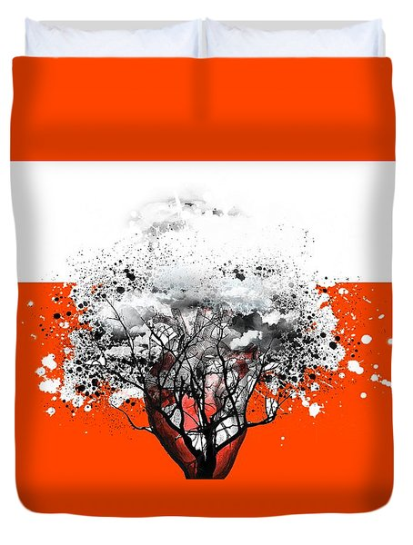 Tree Of Feelings Duvet Cover by Paulo Zerbato