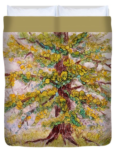 Tree Of Life Duvet Cover by Joanne Smoley