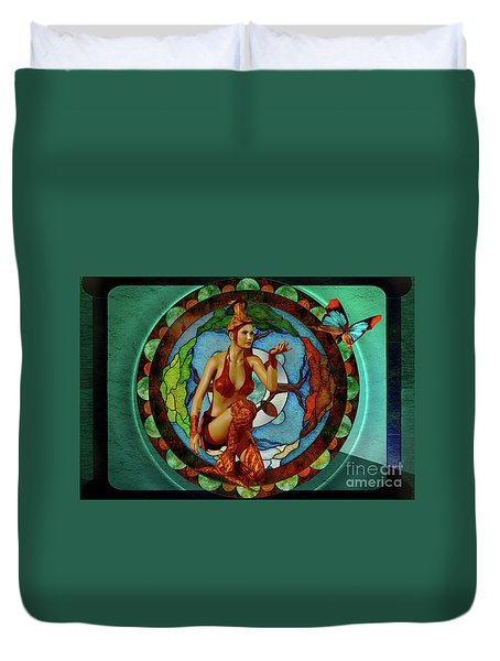 Tree Of Life Duvet Cover by Shadowlea Is