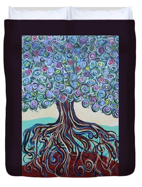 Tree Of Life-spring Duvet Cover