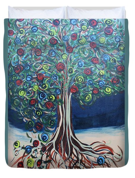 Tree Of Life - Summer Duvet Cover