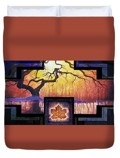 Tree Of Life The Giver Duvet Cover