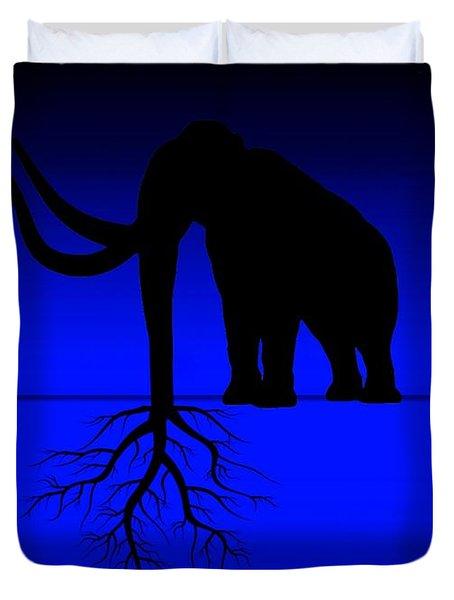 Tree Of Strength Prosperity And Longevity Duvet Cover by Paulo Zerbato