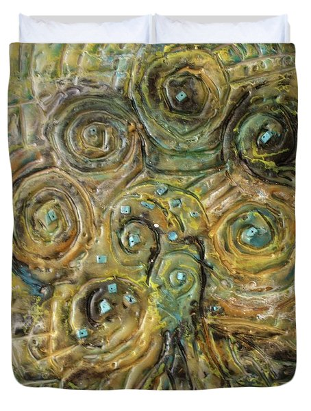 Tree Of Swirls Duvet Cover
