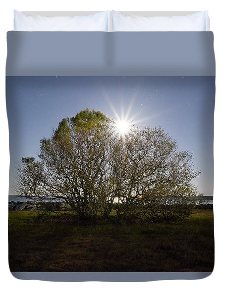 Tree Of The Night Duvet Cover