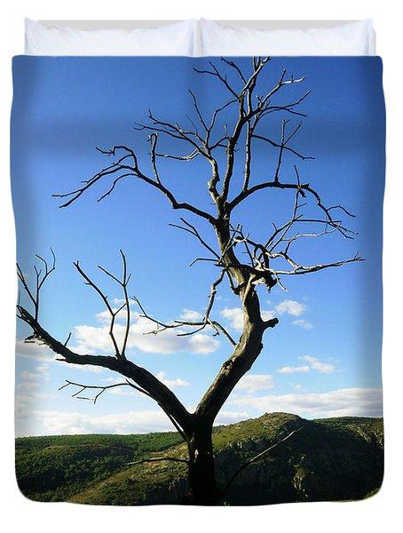 Tree Duvet Cover by Oliver Johnston