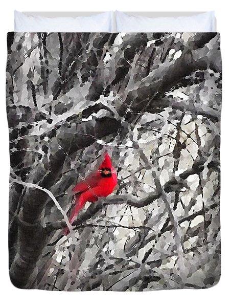 Tree Ornament Duvet Cover