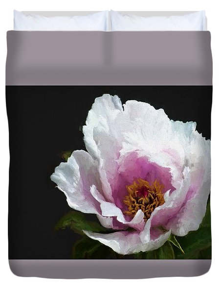 Tree Paeony I Duvet Cover