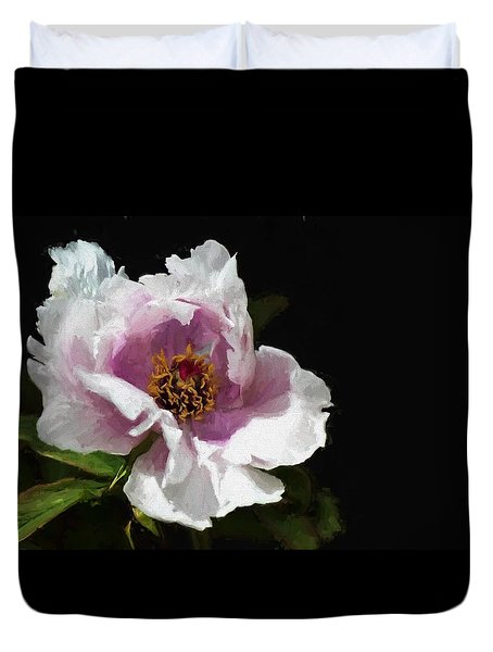 Tree Paeony II Duvet Cover