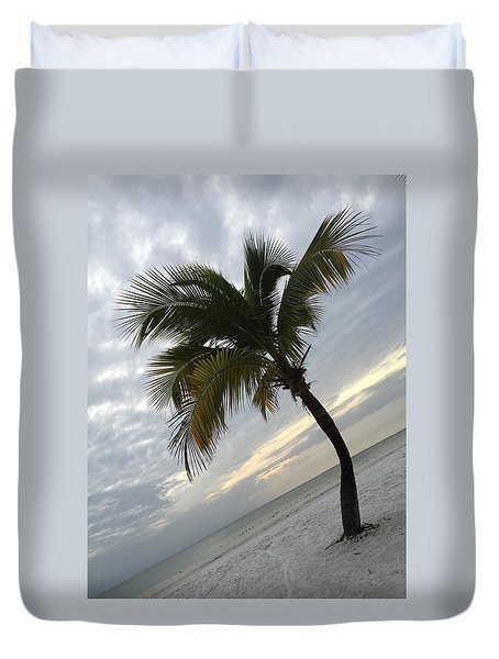 Tree Pose Duvet Cover by Jean Marie Maggi