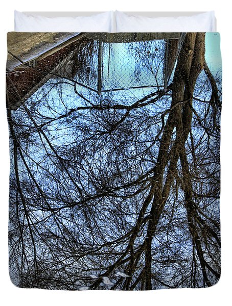 Tree Reflection From No Where Photography Image Duvet Cover by James BO  Insogna