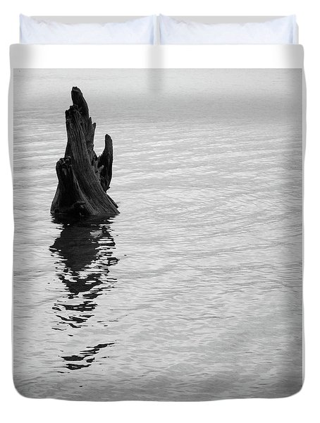 Tree Reflections, Rest In The Water Duvet Cover