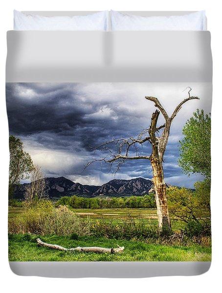 Tree Sculpture Duvet Cover