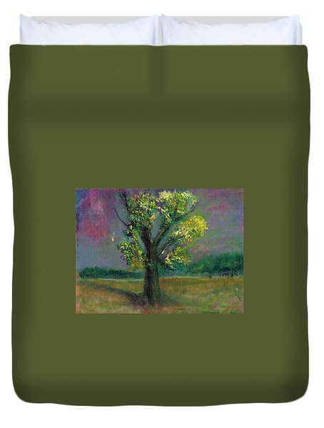 Tree Shadow Duvet Cover
