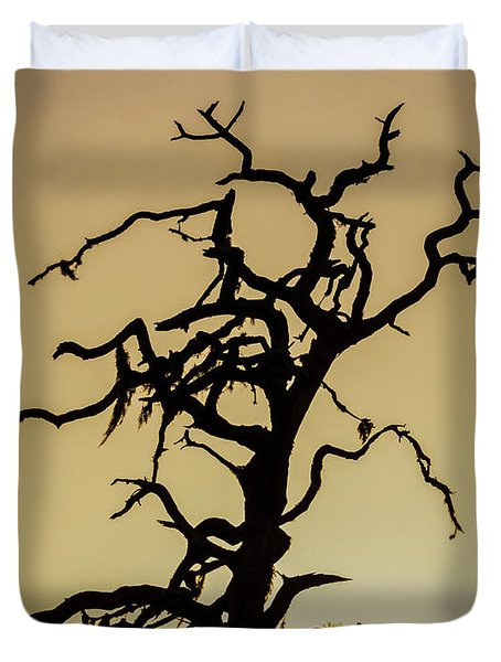 Tree Silhouette Duvet Cover