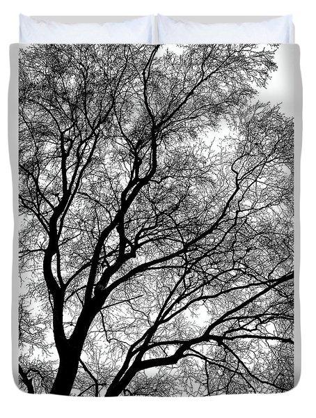 Tree Silhouette Series 1 Duvet Cover