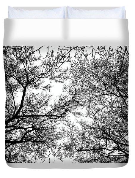 Tree Silhouette Series 7 Duvet Cover