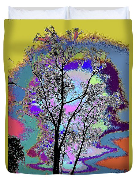 Tree - Story Of Life Duvet Cover