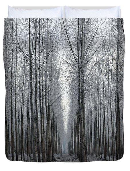 Tree Symmetry Duvet Cover