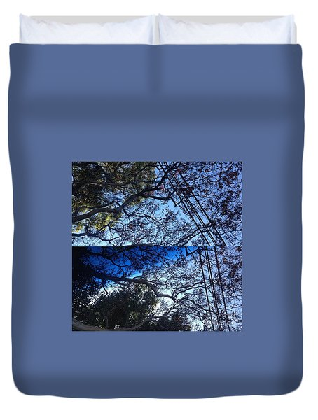 Tree Symphony Duvet Cover by Nora Boghossian