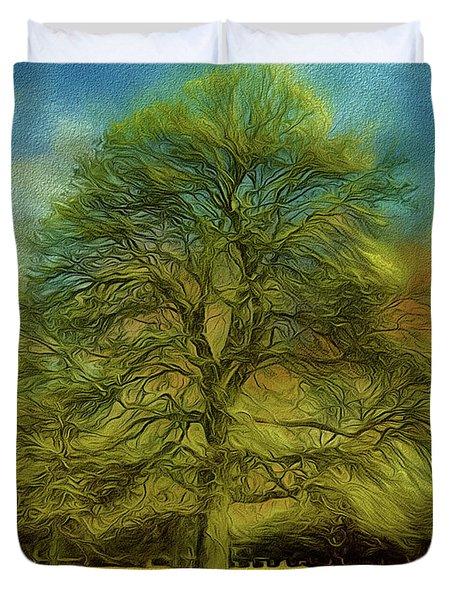 Tree Three Duvet Cover