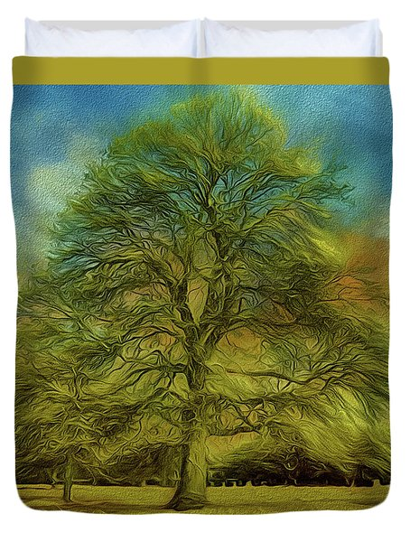Tree Three Duvet Cover