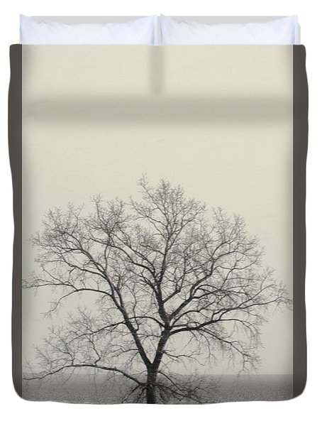 Duvet Cover featuring the photograph Tree#1 by Susan Crossman Buscho