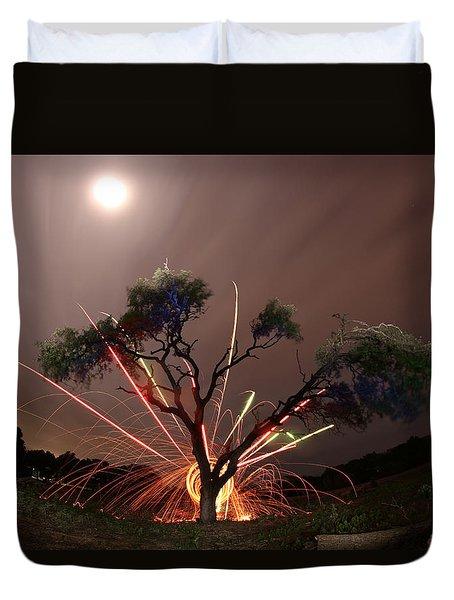 Treeburst Duvet Cover