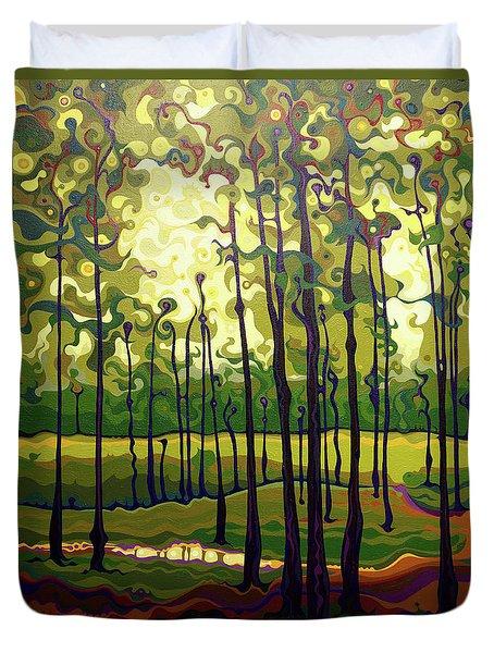 Treecentric Summer Glow Duvet Cover