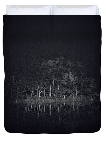 Treeflection Duvet Cover