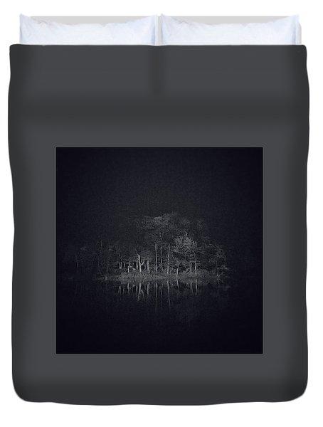 Treeflection Duvet Cover