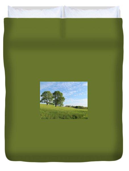 Summer Trees 3 Duvet Cover