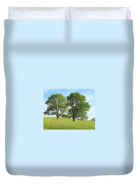 Summer Trees 4 Duvet Cover