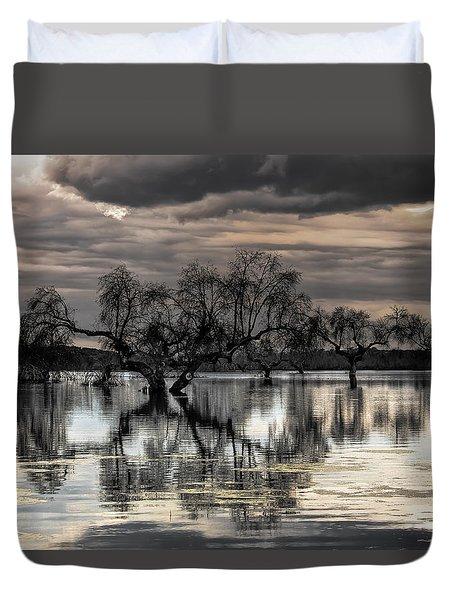 Trees Dream Duvet Cover