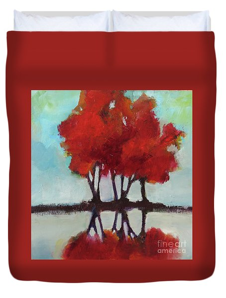 Trees For Alice Duvet Cover