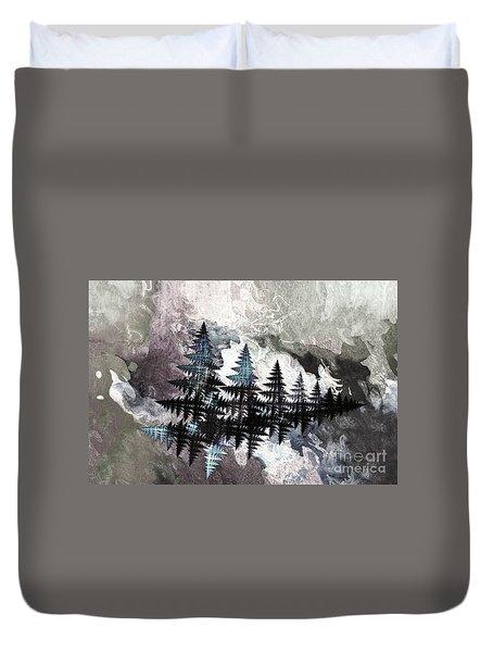 Trees Duvet Cover by Geraldine DeBoer