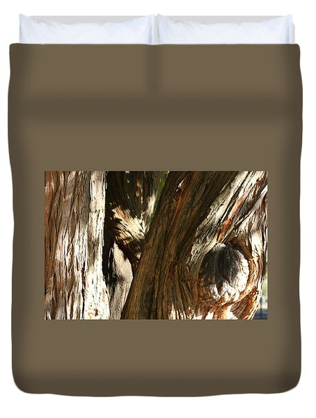 Trees Trunks Duvet Cover