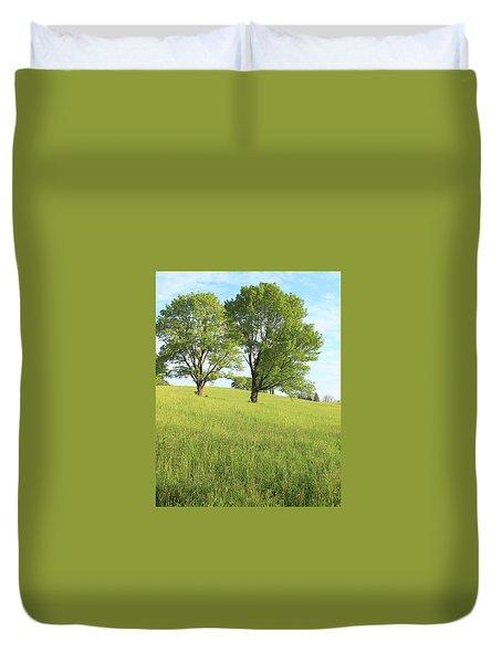 Summer Trees 2 Duvet Cover