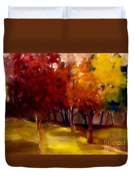 Treescape Duvet Cover