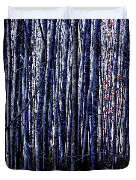 Treez Blue Duvet Cover