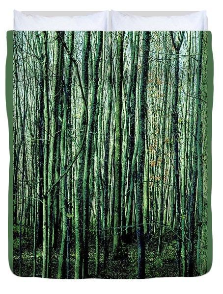 Treez Green Duvet Cover