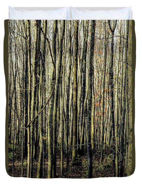 Treez Yellow Duvet Cover