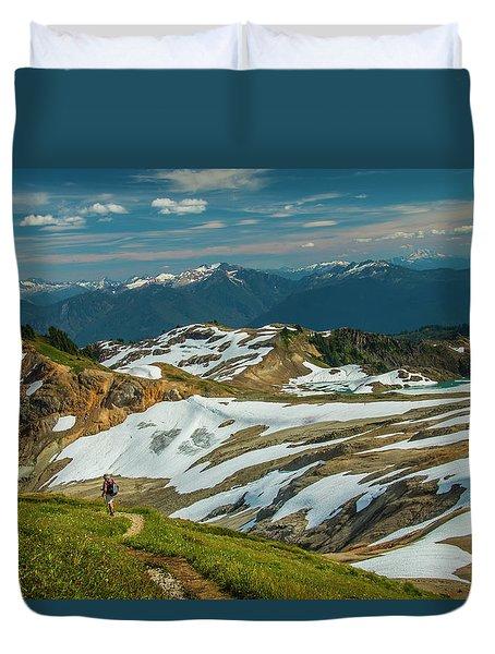 Trekking Ptarmigan Ridge Duvet Cover