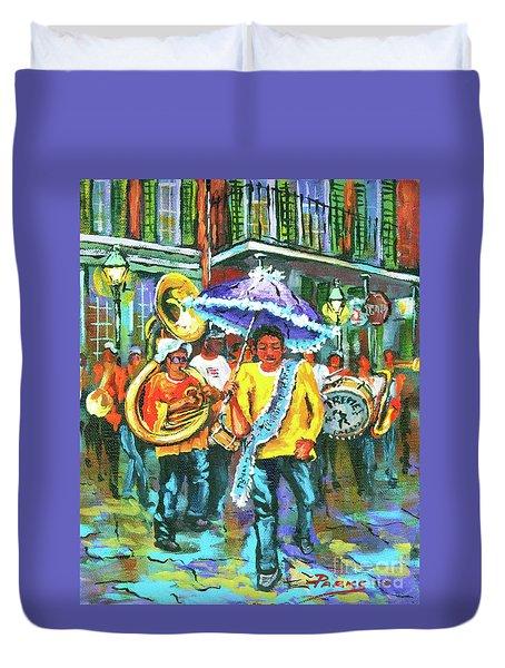 Treme Brass Band Duvet Cover